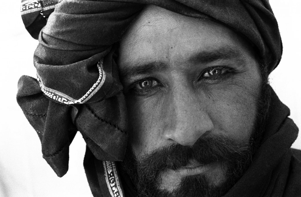 A man from an internally displaced persons camp outside Kandahar, Kandahar province, August 2004